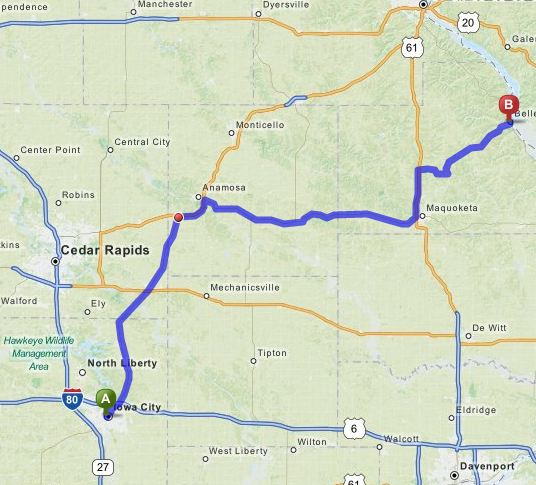 Save gas by planning your trip with Mapquest