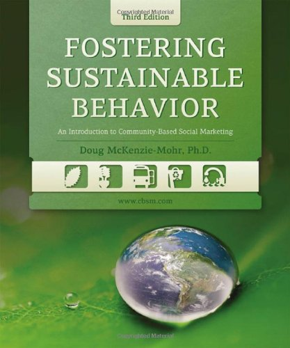 """Book Review for """"Fostering Sustainable Behavior"""""""