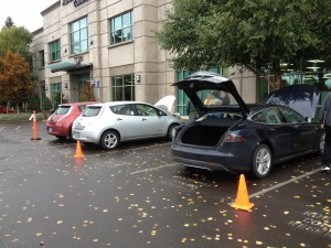 electric vehicle show and tell