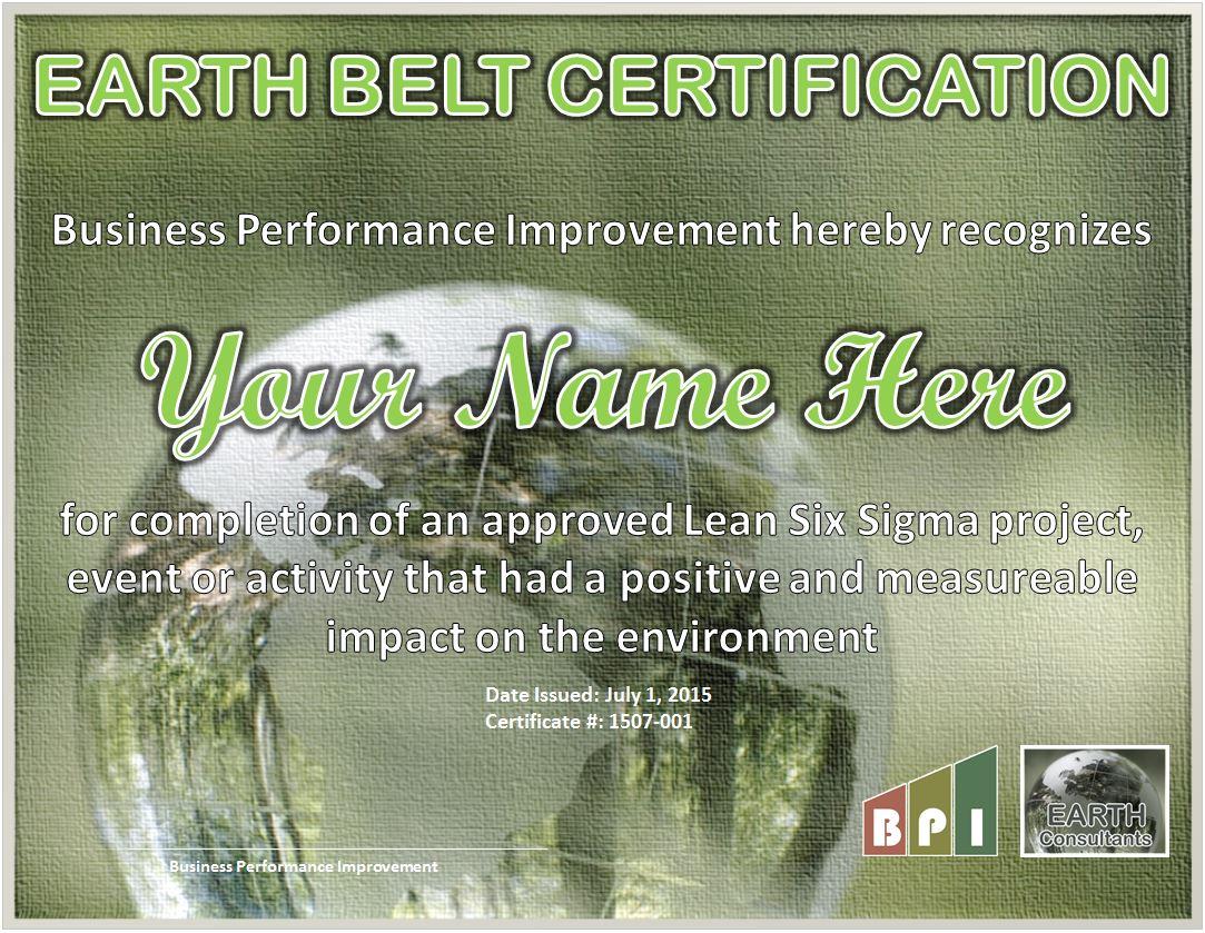 Earth belt certification earth consultants earth belt certification earthbeltcertificationexample xflitez Gallery